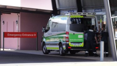 The man was taken to Bunbury Regional Hospital where he remains on life support.