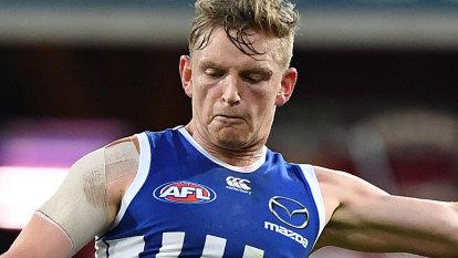 North Melbourne skipper takes knee rehabilitation online