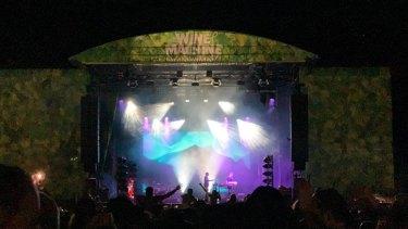 TheWine Machine festival.