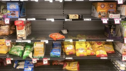 Price war reportedly at centre of empty supermarket shelves