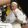 A 'barbarous blow' but pope asks Christians to forgive IS extremists