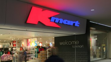 Kmart sales have fallen after several years of standout growth.