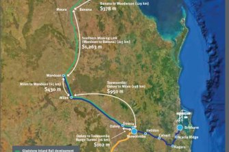Toowoomba to Gladstone and Toowoomba to Brisbane Inland Rail routes compared by AEC Group consultants.