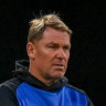 Warne tests positive for COVID-19