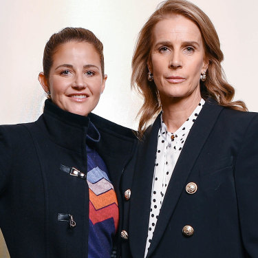 Melbourne Cup-winning jockey Michelle Payne and director Rachel Griffiths formed a close bond while filming <i>Ride Like a Girl</i>.