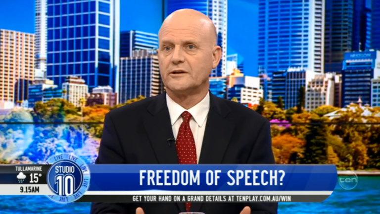 David Leyonhjelm refuses to apologise over Angela Bishop