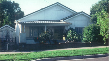 Jeni Haynes' family home in Greenacre. Assaults took place in the adjoining shed.