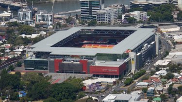 Suncorp Stadium in Brisbane, which could be in the running to host the 2021 grand final.