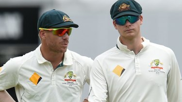 David Warner and Steve Smith both copped 12-month bans.