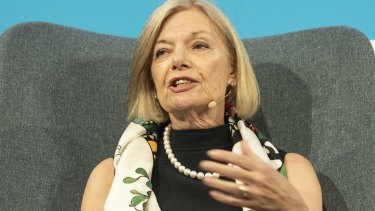 AustralianSuper chair Heather Ridout said boards don't have to listen to its concerns.