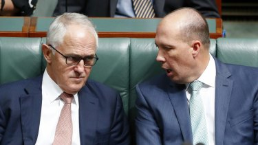 Malcolm Turnbull is demanding an explanation from Peter Dutton