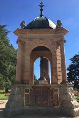 The Bathurst War Memorial.