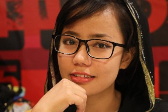 Farahnaz Salehi has been in Indonesia for seven years.