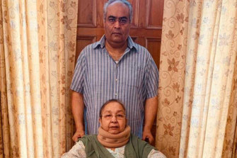Australian citizen Sunny Joura and his 72-year-old mother Darshan Kaur Joura, who has multiple illnesses, were barred from the repatriation flight.