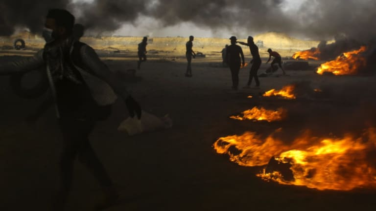 Israel races a growing backlash over its use of lethal force against Palestinian protesters at the Gaza border.