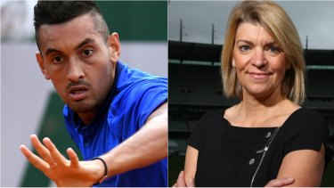 Nick Kyrgios and Kitty Chiller did not see eye-to-eye ahead of the 2016 Rio Olympics.