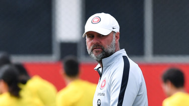 Wanderers interim coach Jean-Paul de Marigny.