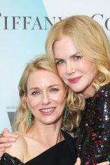 Naomi Watts and Nicole Kidman.