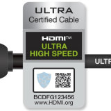 Officially certified HDMI 2.1 cables will have this label.
