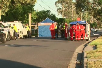 A man has died in a hit-run at Dingley Village.