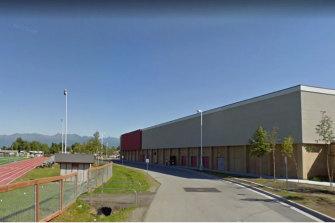 Anchorage's Dimond High School.