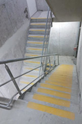 One escape stair masquerading as two.