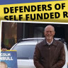 'Retiree group' lobbying against Labor unmasked as Liberal Party and trucking industry operation