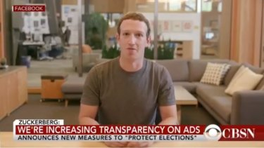 """Facebook founder Mark Zuckerberg was the victim of a deepfake video, in which he appeared to boast that he controlled """"billions of people's stolen data""""."""