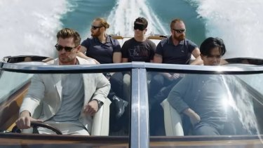 Chris Hemsworth in Escape from Spiderhead.