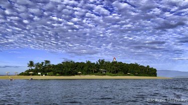 """Low Isles island located off Port Douglas has been described as a """"tropical paradise""""."""