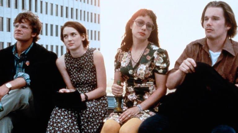 Winona Ryder in Reality Bites, circa 1994.