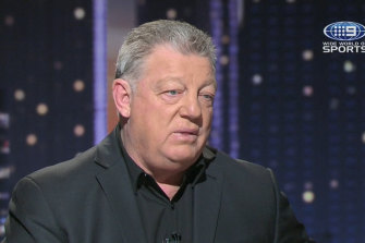 Phil Gould's on-air chemistry with Ray Warren is infectious.