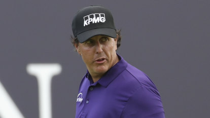 Mickelson sheds kilos before British Open