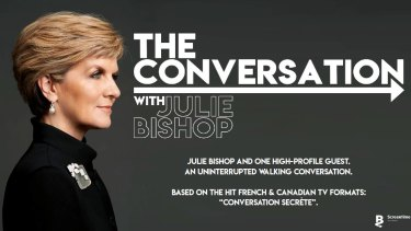 The Conversation with Julie Bishop.