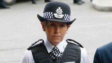 London Police Commissioner Cressida Dick.