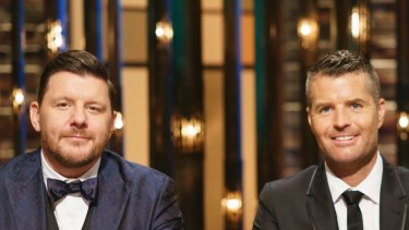 My Kitchen Rules 2018. Grand Final Judges. M Mag TV previews for 5th May 2018. Image supplied.