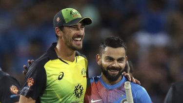 The Australians need to make Virat Kohli their best mate.