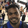 Tiwi-bound Rioli's emotional chat with cousin Cyril