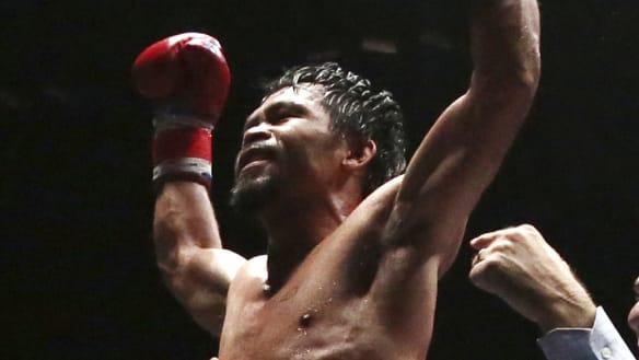 Pacquiao beats Matthysse to claim WBA welterweight title