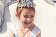 Instagram influencer Maria Di Geronimo's daughter Valentina at her birthday party.