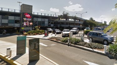 Sunshine Plaza shopping centre in Maroochydore, the suburb with the second-highest number of car-park crashes in the country.