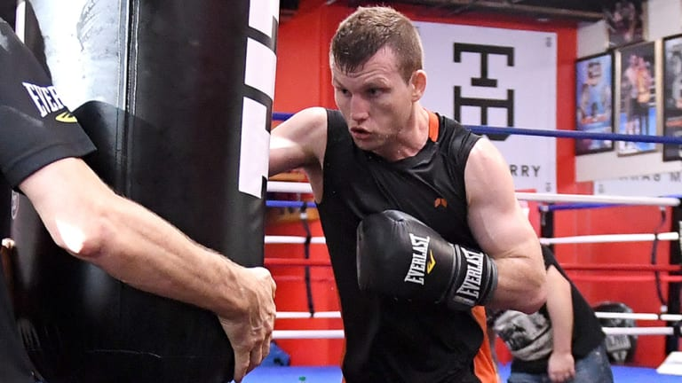 Battle-hardened: Jeff Horn is ready for the fight of his life on Sunday.
