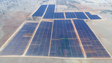 Manildra solar farm in NSW.