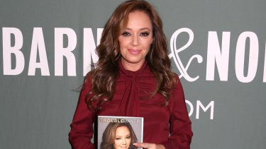 Leah Remini is the host of a documentary series that investigates the Church of Scientology.