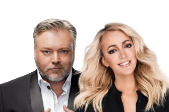 KIIS FM presenters Kyle and Jackie O are a key part of HT&E's business. But that won't stop chief executive Ciaran Davis from looking at new ways to grow audiences and revenue.
