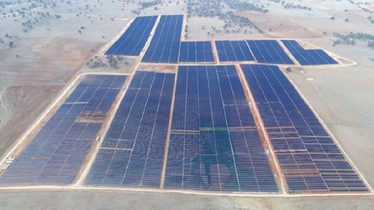 Manildra solar farm in NSW.
