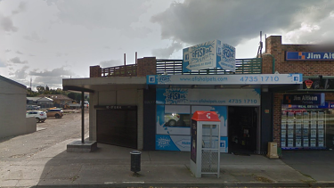 Exotic fish worth thousands of dollars were killed after a fire ripped through a pet shop