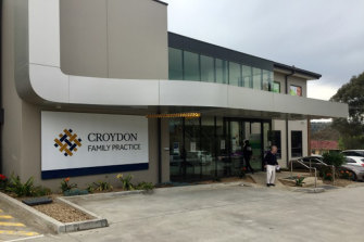 The GP worked at the Croydon Family Practice in Melbourne's east.