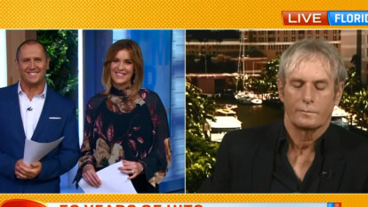 Michael Bolton denies falling asleep during Seven's Morning Show interview