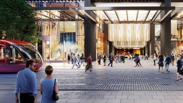 A grand transit hall and public concourse together with a new entrance from George Street will complete the transformation of Wynyard Station.